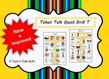 Token Talk Quick Drill for T