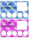 Token boards, 2 colors, classroom management/reinforcement