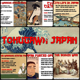 Tokugawa Japan PowerPoint & Flipped Classroom Lesson
