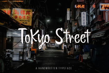 Tokyo Street - Handwritten Typeface