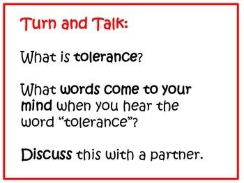 Character Education:Tolerance