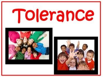 Character Education:Tolerance
