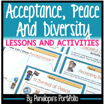 TOLERANCE Character Education Packet