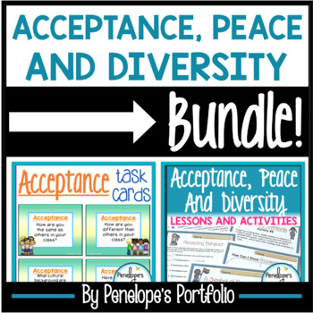 Tolerance BUNDLE:  All Tolerance Lessons and Activities