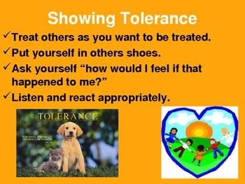 Tolerance Powerpoint