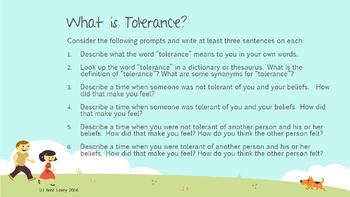 Tolerance Presentation & Activities