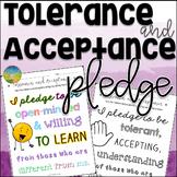 Tolerance and Acceptance Pledge