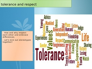 Tolerance and Respect I am Charlie presentation