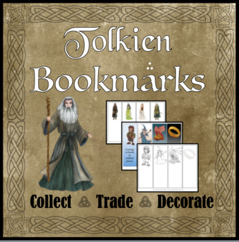 Tolkien Bookmarks