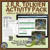 Tolkien Reading Day Activities - Mystery Picture Google Sl