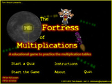 Tom Ansuini Math Multiplication tables game & interactive quiz