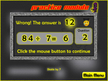 Tom Ansuini math division game & Interactive Quiz