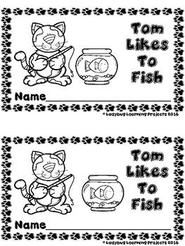 Tom Likes To Fish (A Sight Word Emergent Reader)
