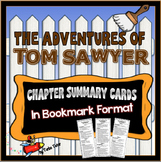 Tom Sawyer Chapter Summary Cards