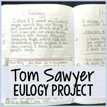 Tom Sawyer Eulogy Speaking Project