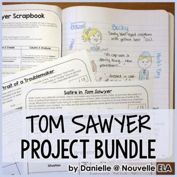 Tom Sawyer Project and Essay Bundle