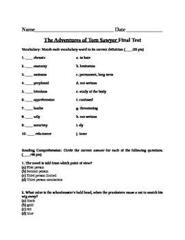 Tom Sawyer Test