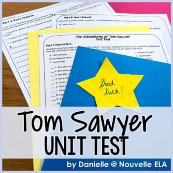 Tom Sawyer Unit Test