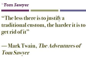 Tom Sawyer Worksheets (BUNDLE)