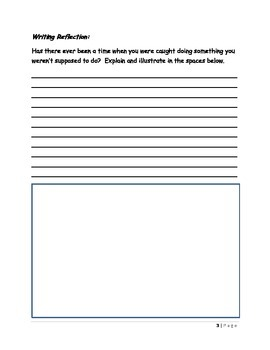 Tom Sawyer: Writing Prompts and Capital Letters/Ending Punctuation