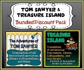 Tom Sawyer and Treasure Island Discount Bundled Translator