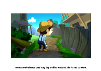 Tom Sawyer and the picket fence