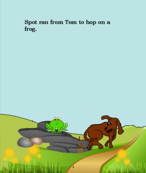 "Tom Stops Spot     ""the short o"""
