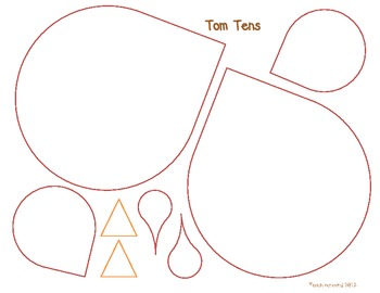 Tom Tens Math Craftivity