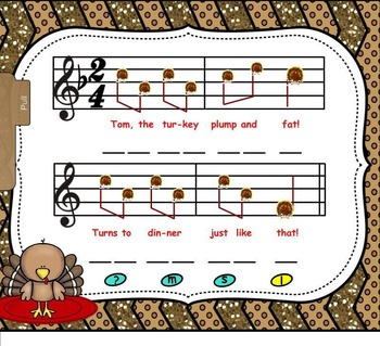 """Tom, The Turkey - Preparing For Solfege Tone """"Do"""" (SMNTBK EDITION)"""