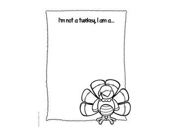 Tom Turkey Disguise Bulletin Board Thanksgiving Writing