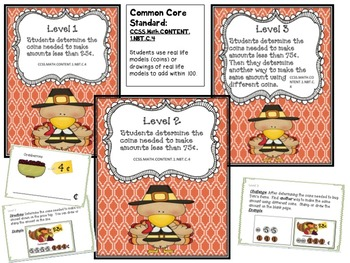 Tom Turkey Goes Shopping: A Coin Stamping Activity Book