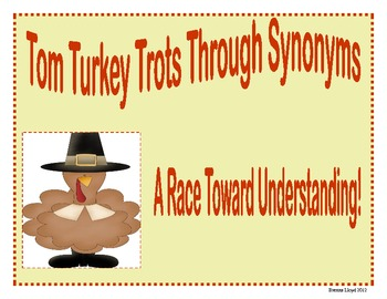 Tom Turkey's Synonym Race