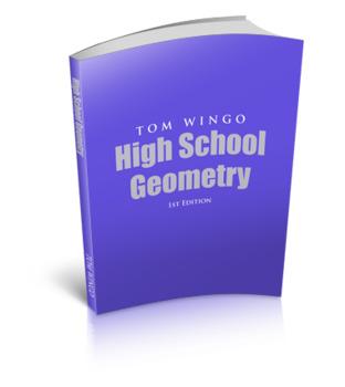 Tom Wingo Geometry Book Digital Bundle- (1) Book (2)Solutions (3)Socrative Codes