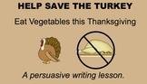 Tom the Turkey Persuasive Writing SMARTboard Lesson