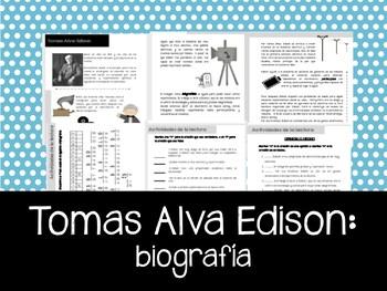 Tomas Alva Edison - El inventor