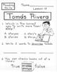 Tomas Rivera  1st Grade Harcourt Storytown Lesson 15