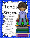 Tomas Rivera 1st Grade Activities Lesson 19