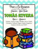 Tomas Rivera - Journeys First Grade Print and Go