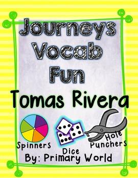 Tomas Rivera, Journeys First Grade Unit 4 Lesson 19 Vocabulary