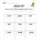 Tomas Rivera Tic Tac Toe Word Work Activities Journeys Lesson 19
