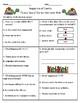 Tomás Rivera Vocabulary & Comprehension Test/Quiz (Journeys)