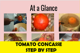 Tomato Concasse Knife Skills Slideshow for FACS and Culinary Arts