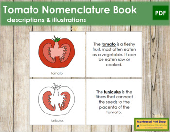 Tomato Nomenclature Book