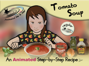 Tomato Soup - Animated Step-by-Step Recipe - Regular