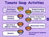 Tomato Soup Theme - Traditional Math & Language Arts - Sma