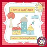 Tomie DePaola Instant Listening Center - QR Codes - Author Study