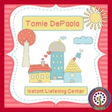 Tomie DePaola Instant Listening Center - QR Codes - Author Study