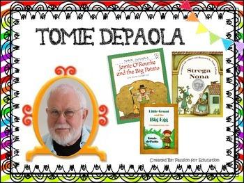 Tomie Depaola Listening Center (11 QR Code Storybooks)