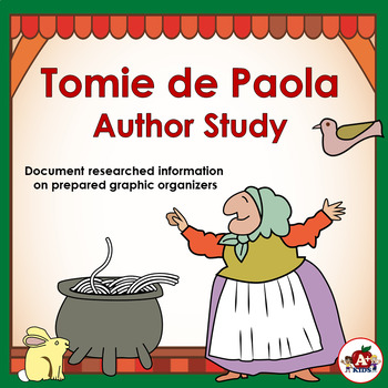 Tomie de Paola Author Study