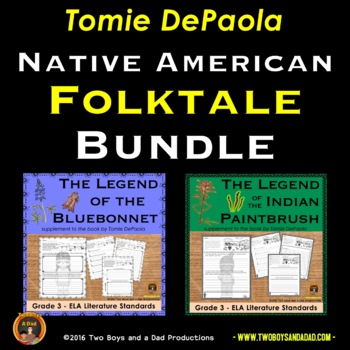 Tomie de Paola Literature Standards Support Pages Bundle